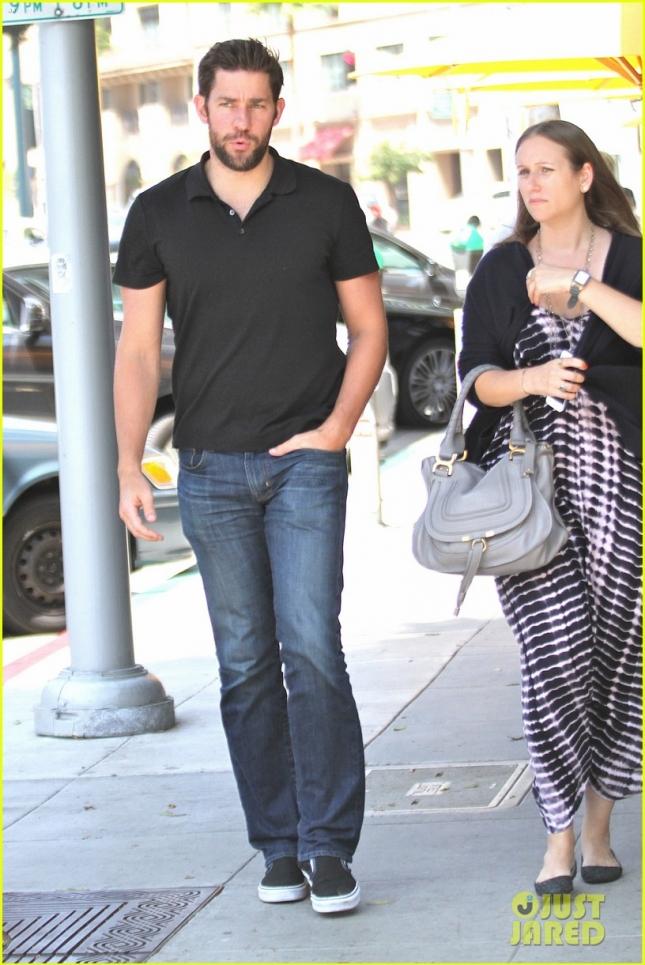 John Krasinski has lunch in Beverly Hills
