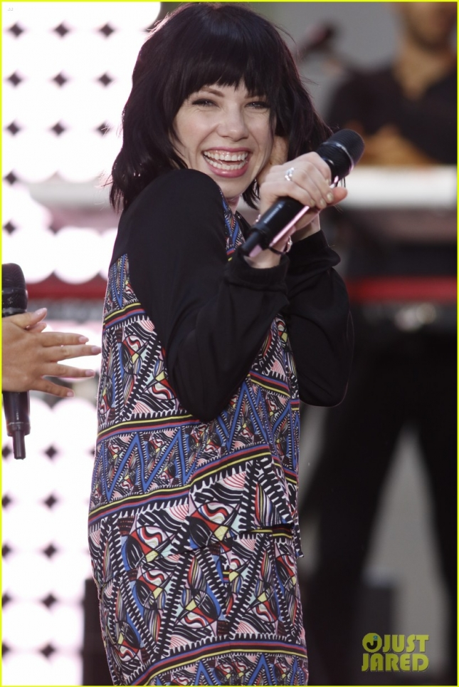 Today Show Summer Concert Series 2015 - Carly Rae Jepsen