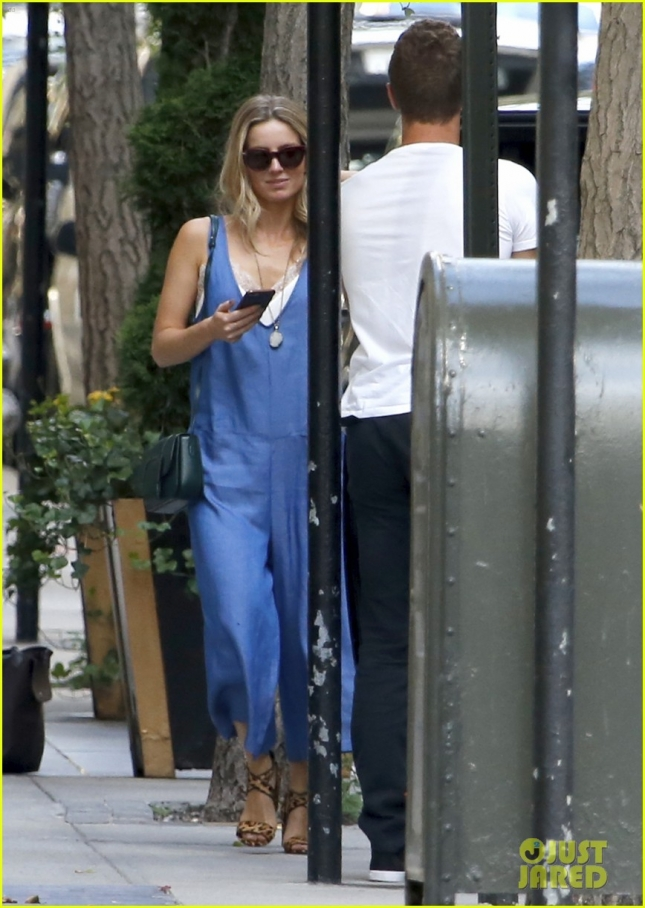 Chris Martin Spotted In NYC With Mystery Woman