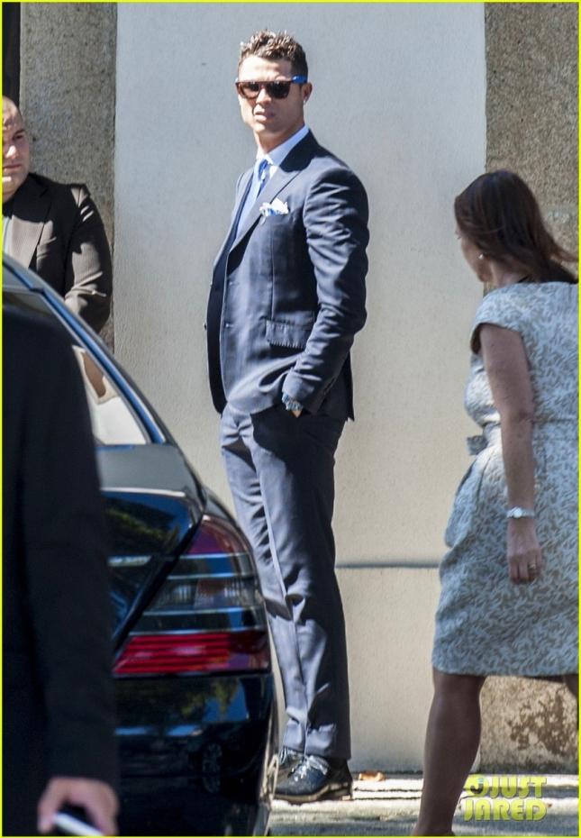 Cristiano Ronaldo Attends His Agent's Wedding