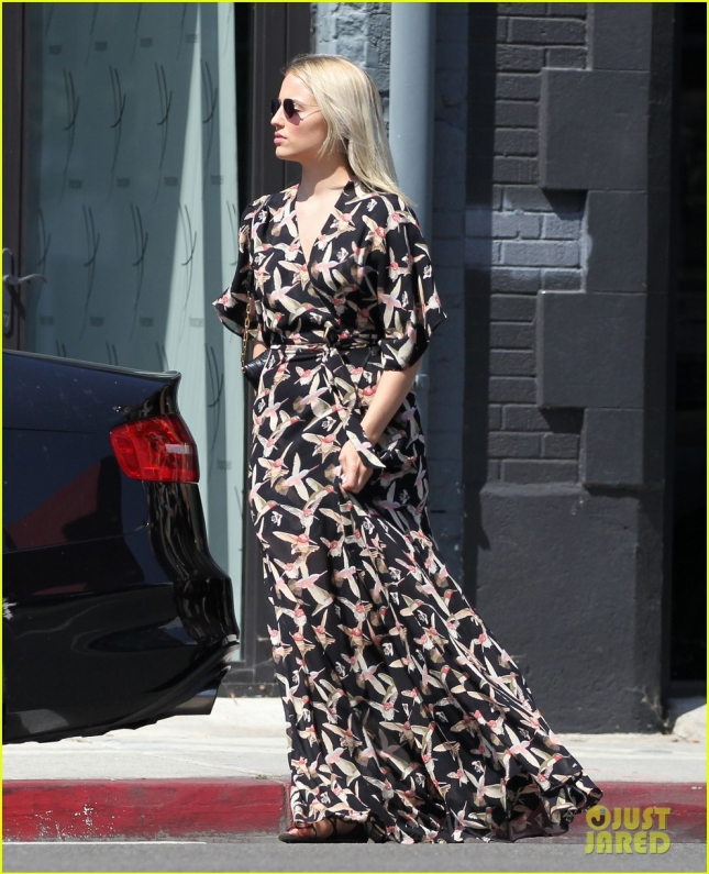 Exclusive... Dianna Agron Shopping In West Hollywood