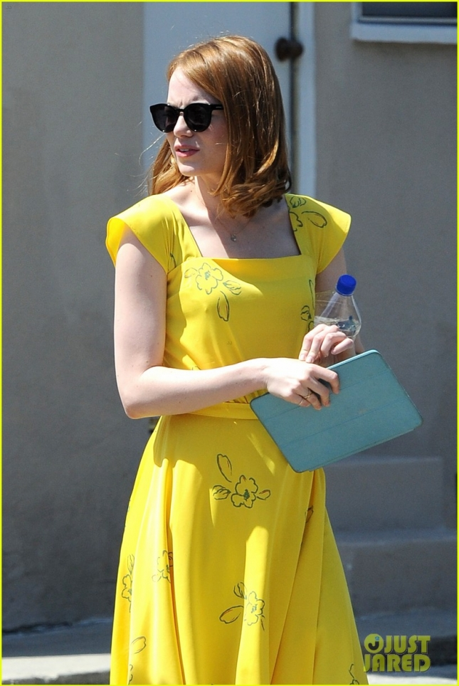 "Emma Stone has vintage style for ""La La Land"""