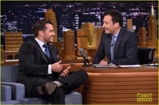 "Henry Cavill Visits ""The Tonight Show Starring Jimmy Fallon"""
