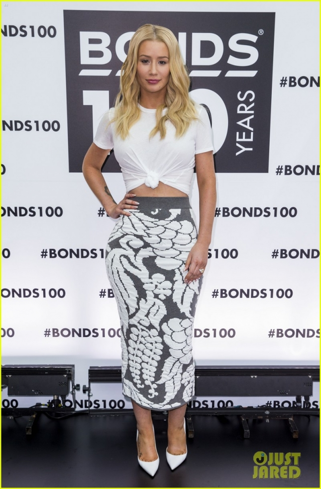 Iggy Azalea hosts Bonds 100th Birthday Celebration **USA and Canada ONLY**