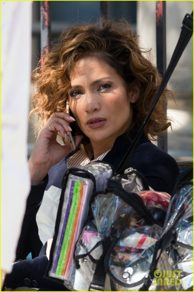 Jennifer Lopez looks lip licking lovely on the set of 'Shades of Blue'