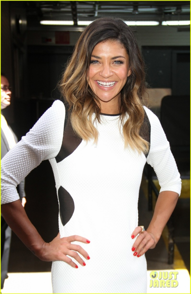 Jessica Szohr At AOL Build