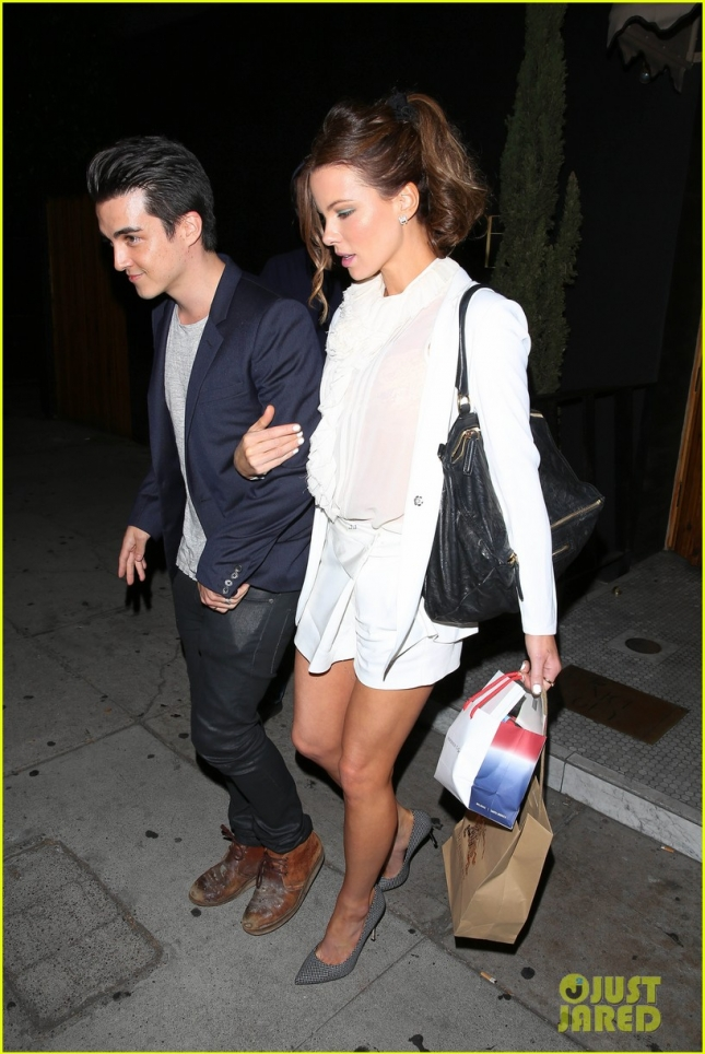 Kate Beckinsale is a vision in white at The Nice Guy
