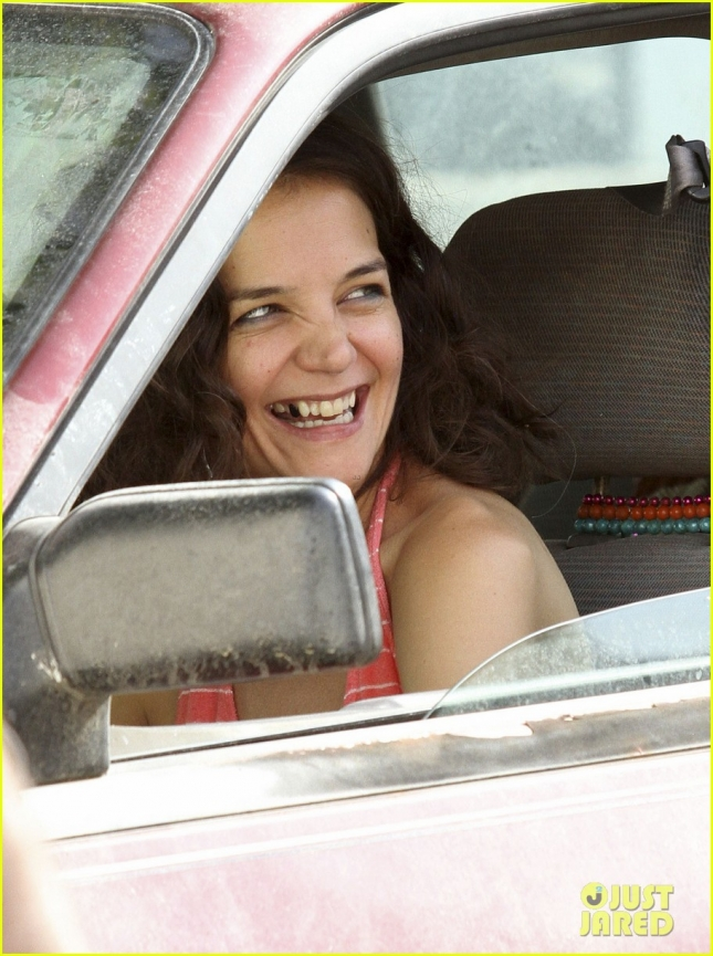 Katie Holmes makes her acting and directorial debut in 'All We Had' **USA ONLY**