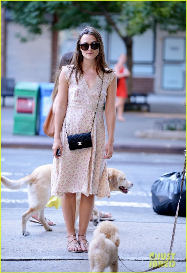 Keira Knightley and James Righton Hold Hands While Strolling in the City