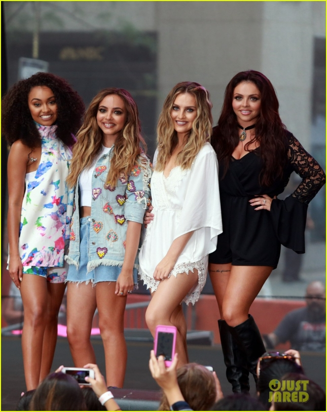 Little Mix Performing Live on 'The Today Show'