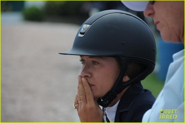 EXCLUSIVE: Mary-Kate Olsen seen during the 40th Annual Hampton Classic in Bridgehampton