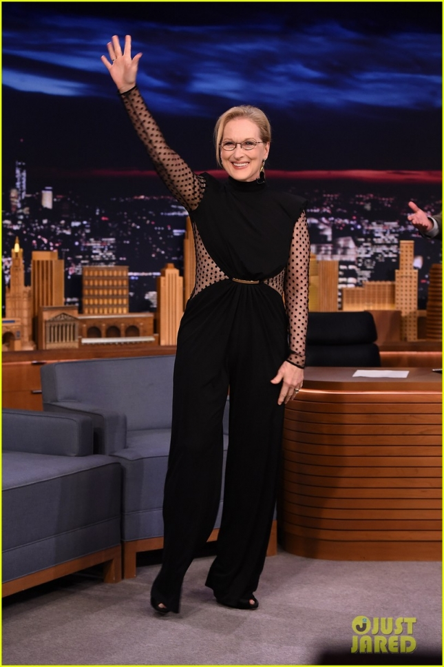 "Meryl Streep Visits ""The Tonight Show Starring Jimmy Fallon"""