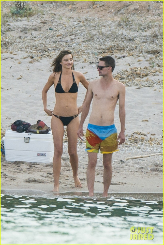 *EXCLUSIVE* Miranda Kerr and Evan Spiegel take their new love to Corsica **USA ONLY** **MUST CALL FOR PRICING**