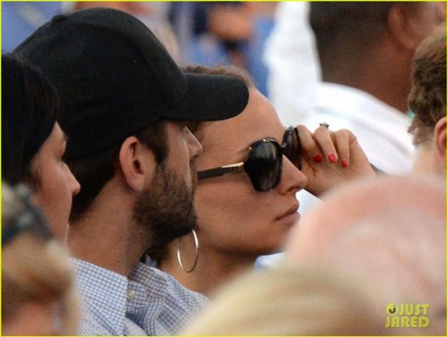 Exclusive... Natalie Portman & Benjamin Millepied Attend Andrea Bocelli's Opera