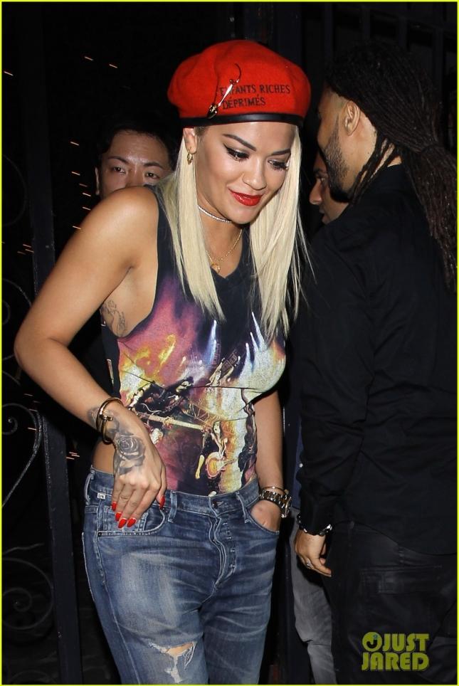 Rita Ora supports Nick Jonas at his album release party **NO Australia, New Zealand**