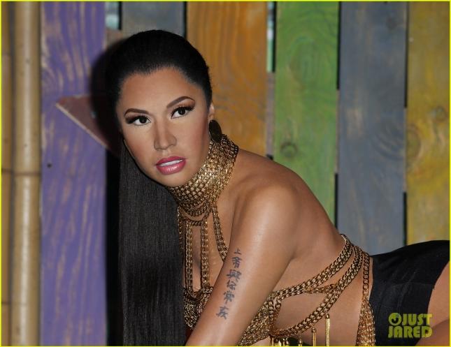 Nicki Minaj's wax figure at Madame Tussauds Las Vegas