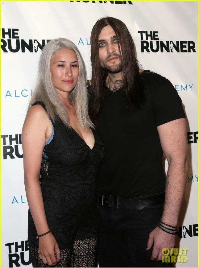 Сын Николаса Кейджа с супругой
