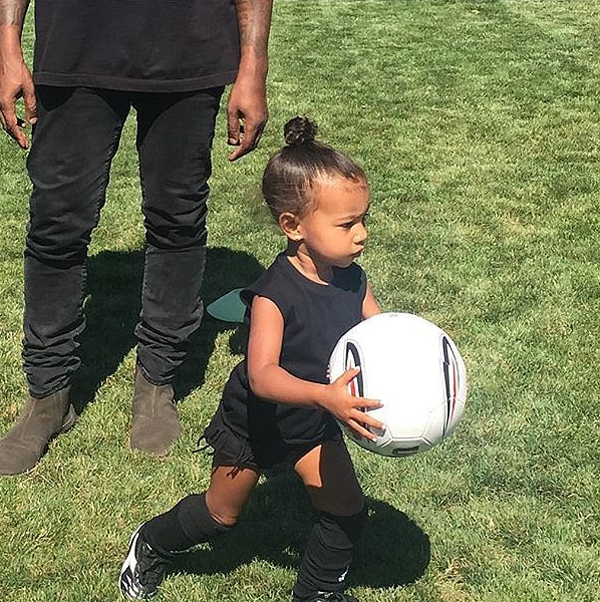 North-West-Playing-Soccer-Instagram-Picture