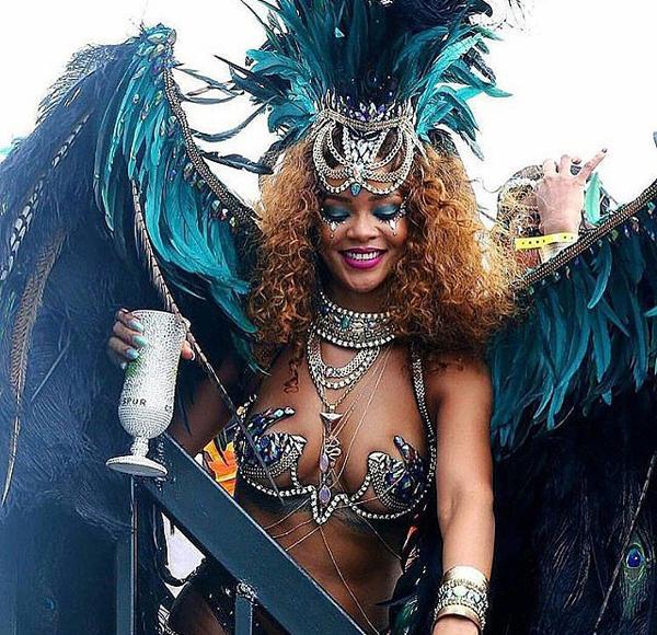 Rihanna-Carnival-Festival-Barbados-August-2015