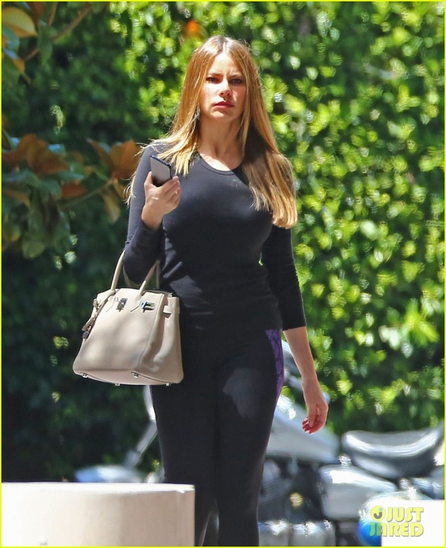 Exclusive... Sofia Vergara Shopping In Beverly Hills