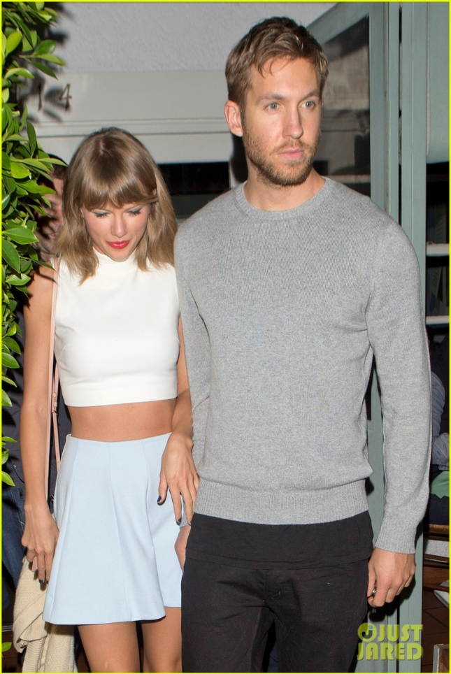 Taylor Swift and Calvin Harris hold hands after a low-key dinner date - Part 2