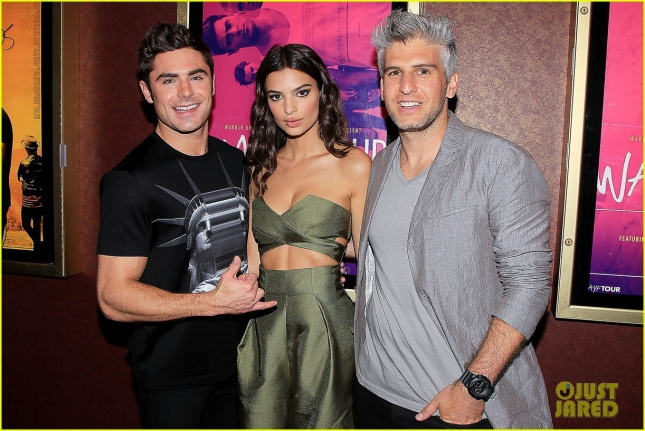 "Zac Efron, Emily Ratajkowski and Max Joseph attend a Special Screening of ""WE Are Your Friends"" in New York"
