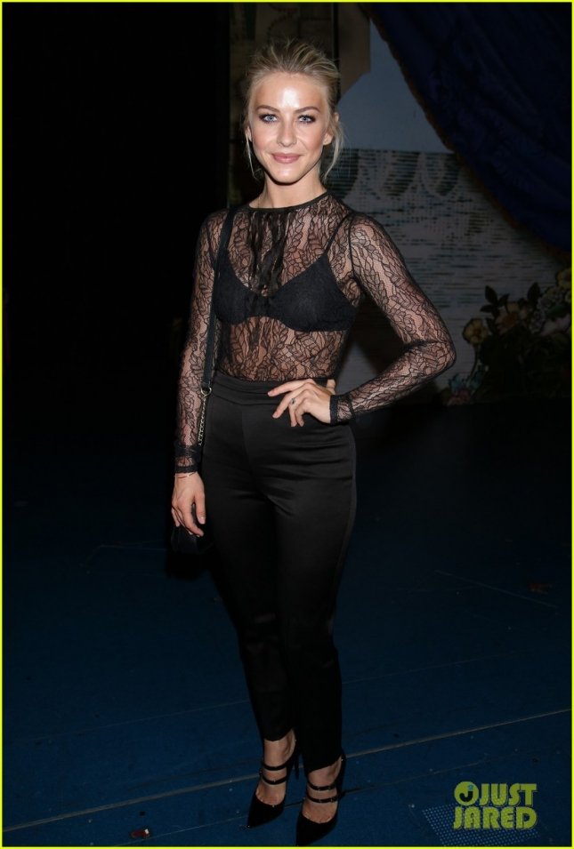 Julianne Hough at Finding Neverland