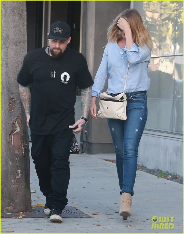Cameron Diaz & Benji Madden Out Shopping For Furniture