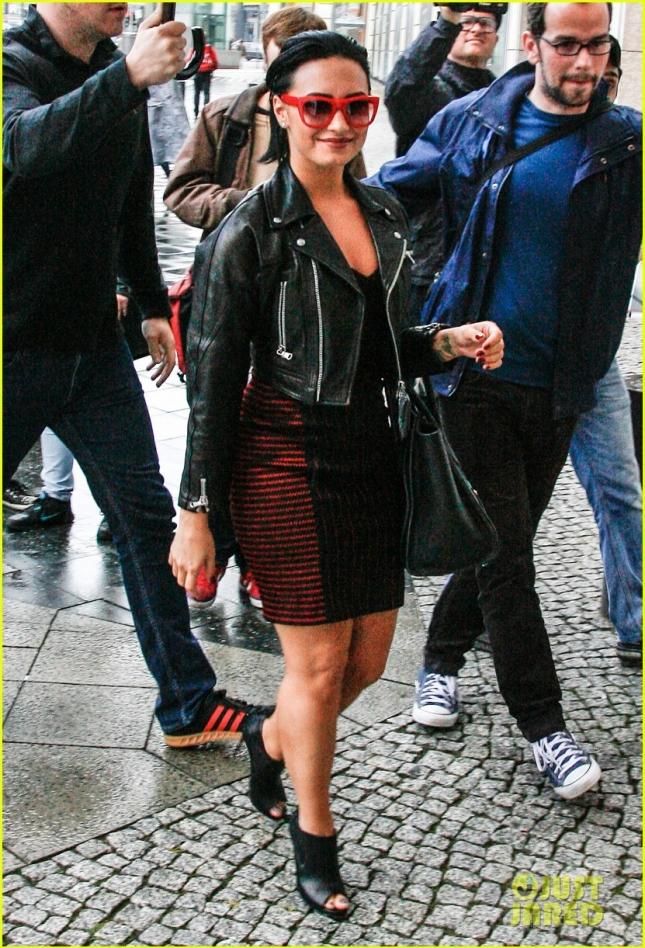 Demi Lovato Visits Energy Radio