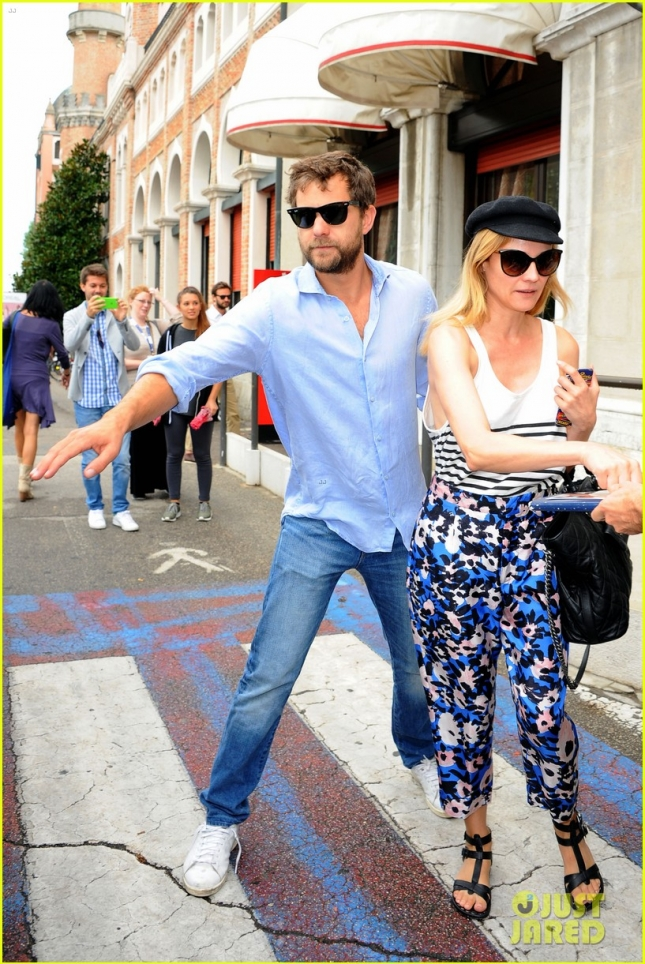 Joshua Jackson, Diane Kruger in Venice Hotel Excelsior