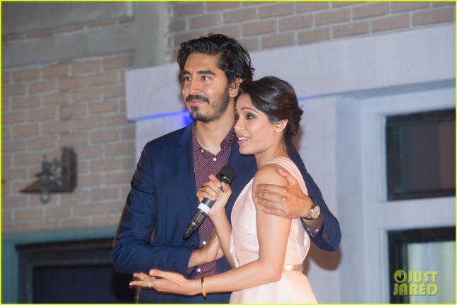 freida-pinto-dev-patel-reunite-for-a-good-cause-05