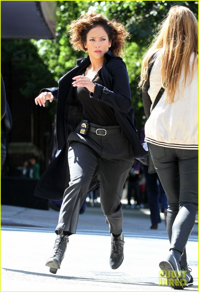 Jennifer Lopez Filming New Series In New York