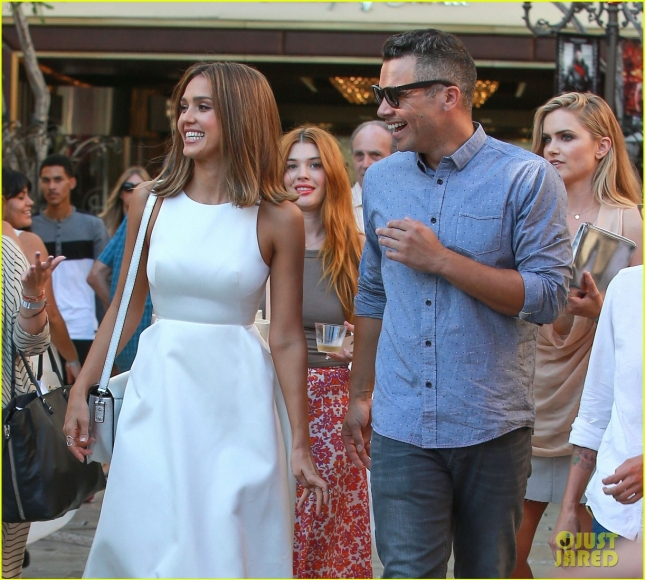 Jessica Alba Hosts The Honest Beauty Event At The Grove