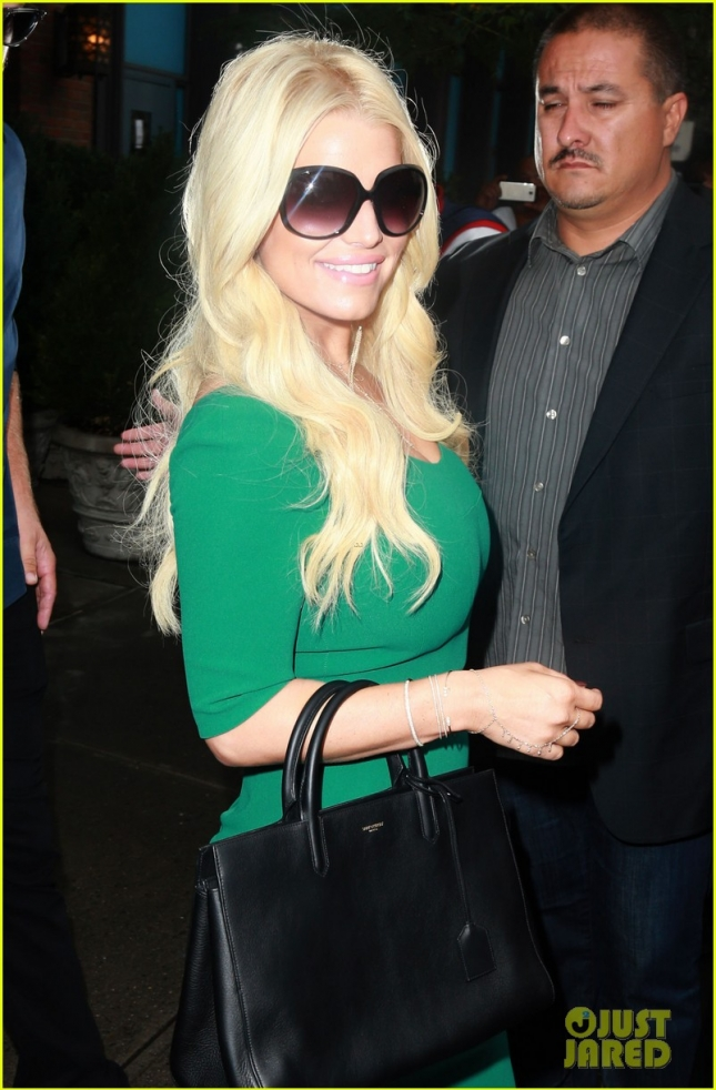 Jessica Simpson & Eric Johnson Step Out In New York