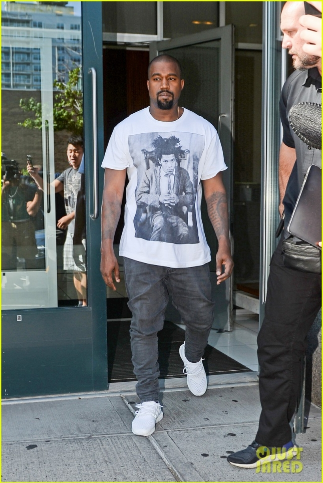 Kanye West Steps Out For A Business Meeting In NYC