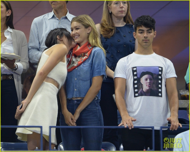 Celebs At The US Open 2015 - Day 9