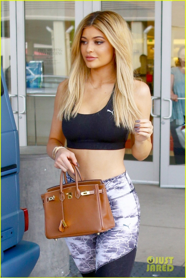 Kylie Jenner looks fit from all angles