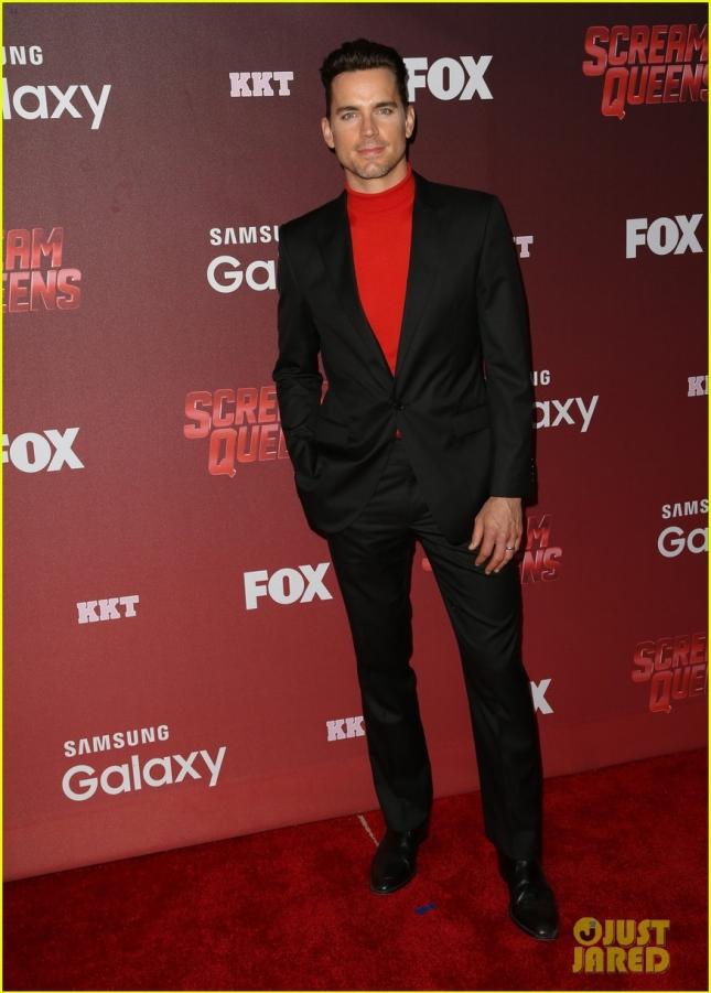 """Мэтт Бомер посетил премьеру FOX TV """"Королевы крика"""""""