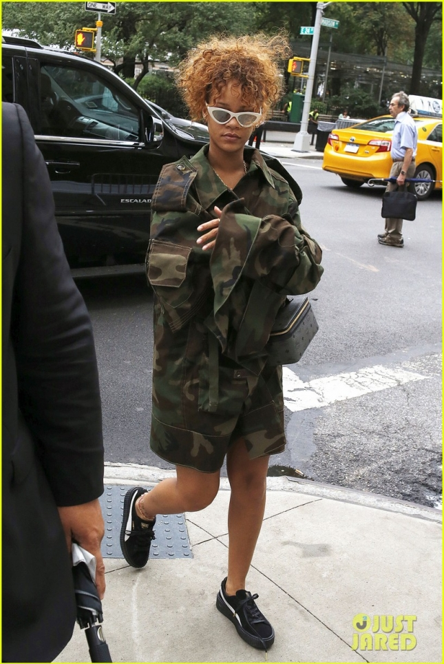 Exclusive... Rihanna Out And About In NYC