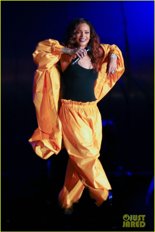 Rihanna performs during Rock In Rio Festival