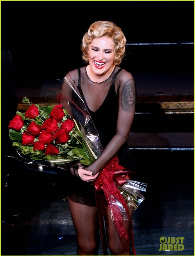 Rumer Willis Broadway Debut In Chicago Curtain Call
