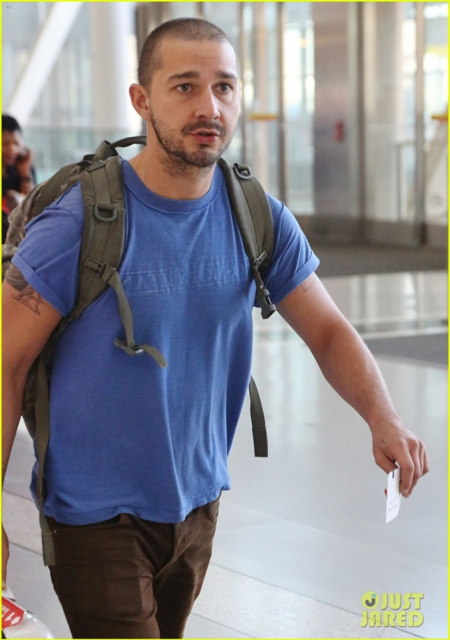Shia Labeouf Leaving TIFF 2015