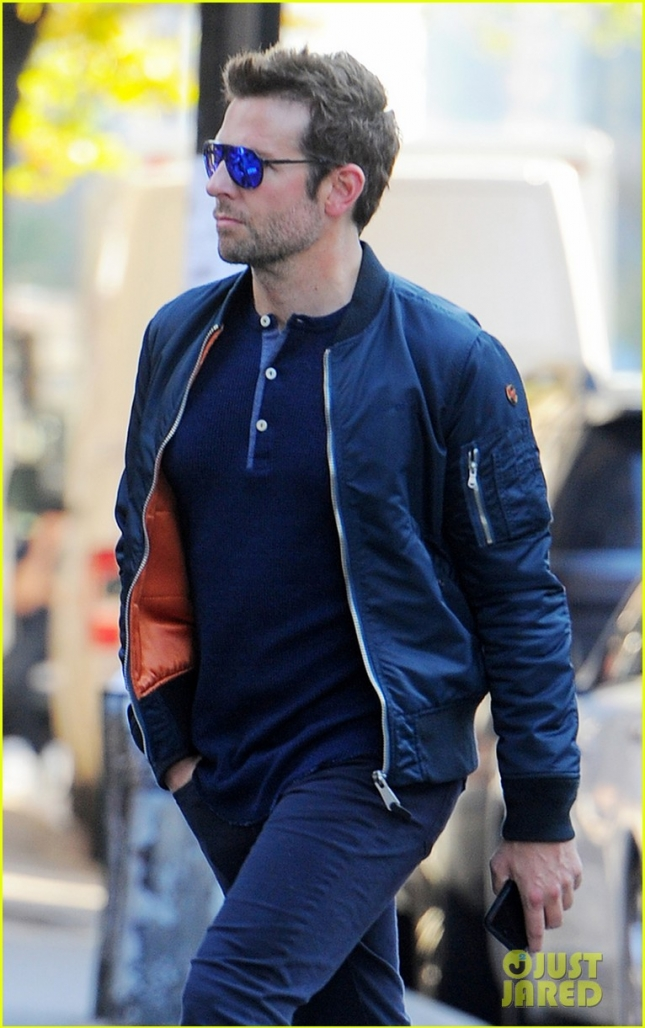 Bradley Cooper out and about in New York