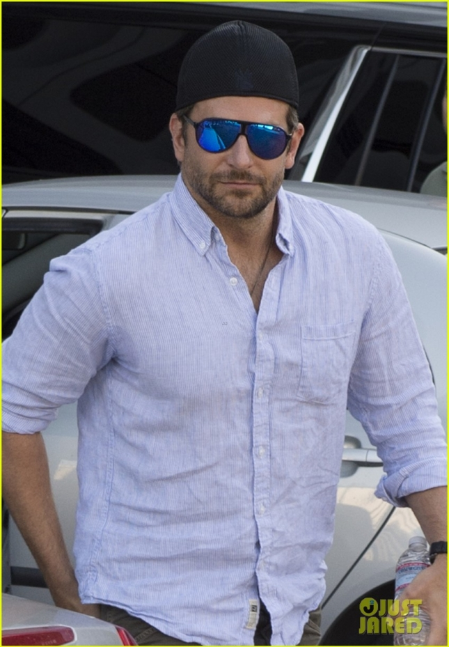*EXCLUSIVE* Handsome Bradley Cooper leaves a movie screening in LA **NO UK**