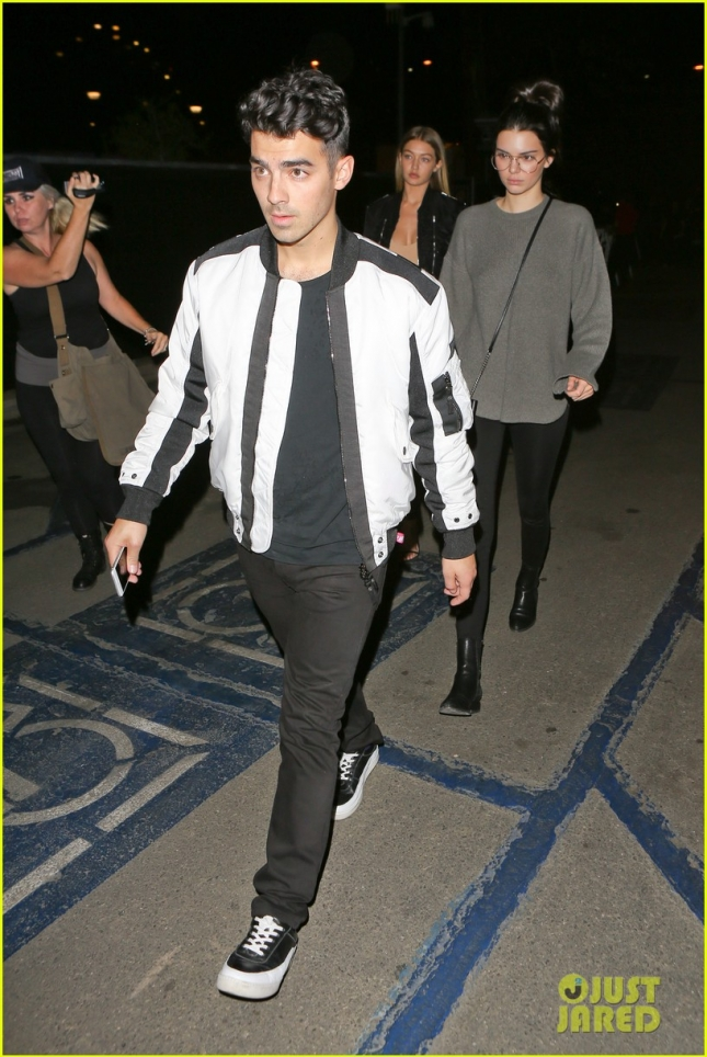 "Kendall Jenner, Joe Jonas and girlfriend Gigi Hadid attend ""CBS RADIO'S ""WE CAN SURVIVE"""