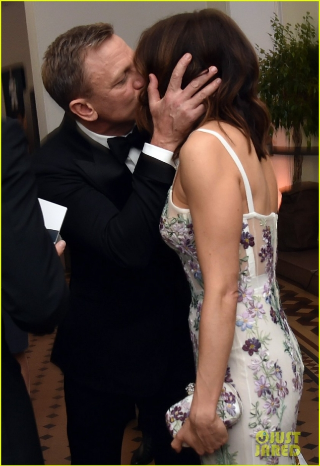 Дэниел Крейг с супругой Рейчел Вайс