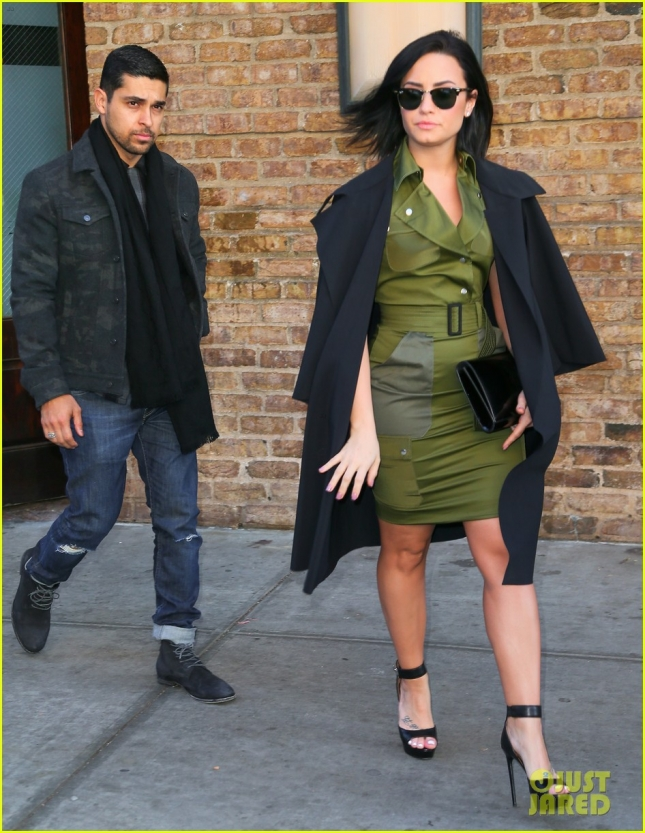 Demi Lovato & Wilmer Valderrama Step Out Together in NYC