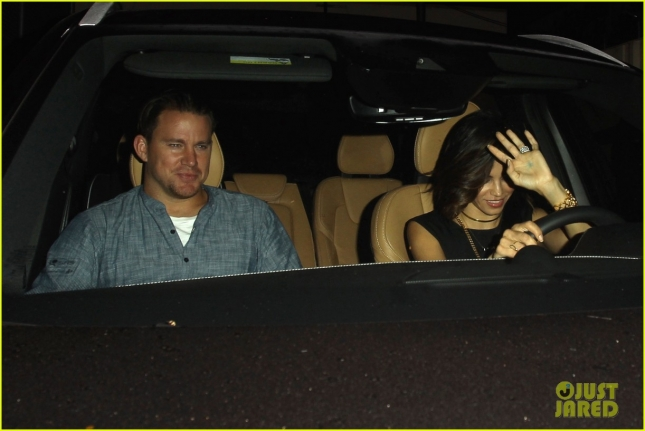 Channing Tatum and Jenna Dewan keep it low key at Craig's **NO Australia, New Zealand**