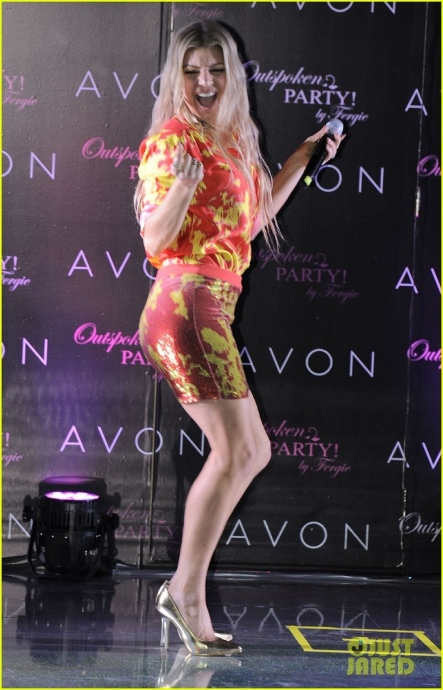 Fergie 'Outspoken Party' Perfume Launch