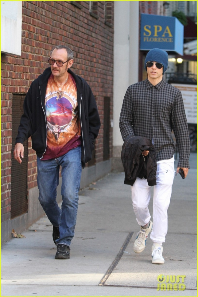 Jared Leto pals around with Terry Richardson in New York